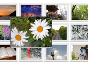div css布局图像画廊A标签属性鼠标滑过显示大图片