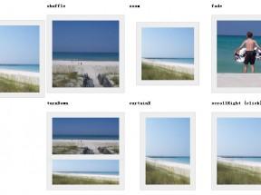 jquery cycle 幻灯片插件支持多种图片切换效果