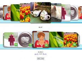 jQuery overScroll插件产品图片叠加旋转动画展示
