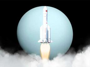 中国航天火箭发射云雾动画特效