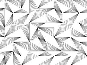 3D六角菱形图案背景特效