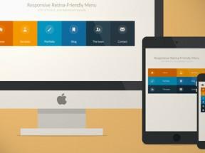 modernizr html5响应式网站导航菜单鼠标悬停菜单滑动高亮效果