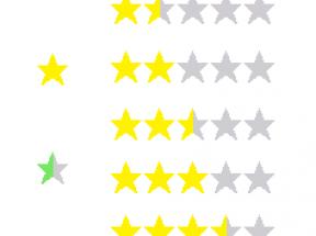 自制投票用的小星星图标png下载