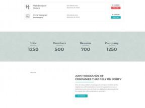 大气的企业职位招聘网站模板