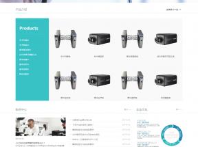 简洁的医疗行业网站模板html整站