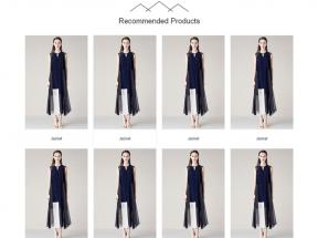简洁的服装企业网站模板html整站源码