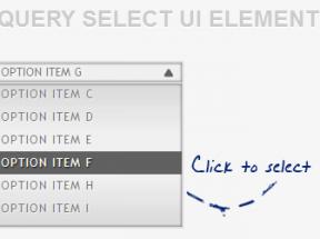 jQuery select选中点击下拉框美化UI元素设计