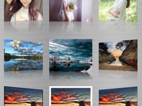 html5 canvas图片倒影效果制作3d相册图片倒影效果