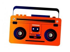 css3喇叭收音机动画特效