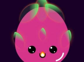 css3可爱的火龙果动画