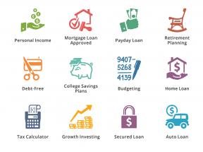 个人商业金融投资图标大全png素材