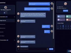 响应式快捷聊天用户界面ui模板