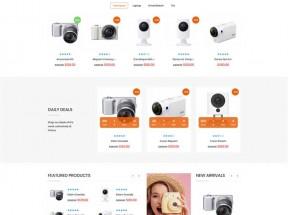 Bootstrap手机数码产品电商网站模板