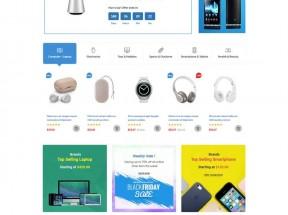 数码电子产品销售电商模板