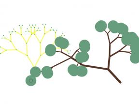 Html5 canvas弹性拖动大树摇摆动画特效