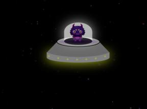 纯css3星空下ufo宇宙飞船动画特效
