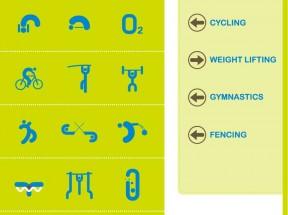 扁平化运动健身场所标识图标大全素材