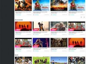 实用的视频博客社交类网站模板html整站