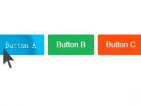 html5鼠标点击按钮波纹动画特效