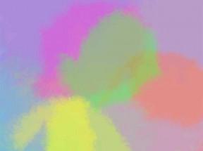 html5 canvas动态水彩画板涂色特效