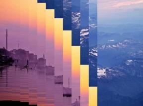 html5全屏图片幻灯片百叶窗波浪动画切换效果