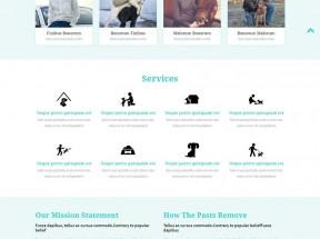 国外猫狗宠物店介绍bootstrap单页模板下载