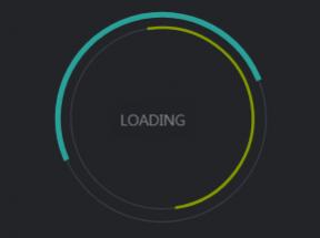 css3 svg圆形线条loading加载动画特效