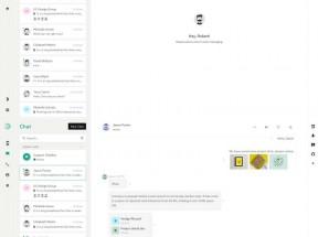 Bootstrap聊天应用程序页面模板