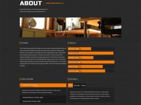 html5单页模板图片摄影网站模板html下载