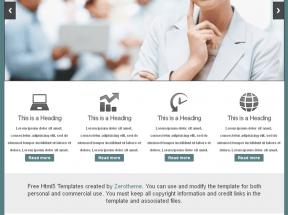 国外商务网站响应式布局模板html源码下载