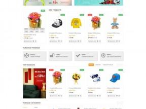 html5电子商务综合商城响应式模板