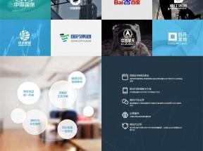 全屏的网络品牌设计网站模板
