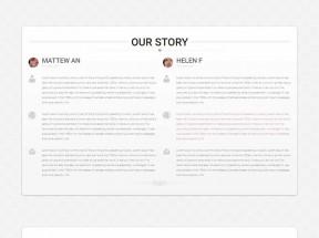 bootstrap响应式个人结婚网站单页模板下载