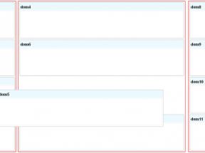 原生js拖动层代码设置3列div层进行左右拖动修改叠加div层