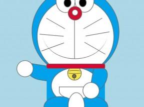 纯css3绘制多啦A梦机器猫动画特效