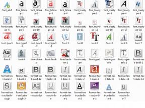 多款实用的字体图标大全png素材下载