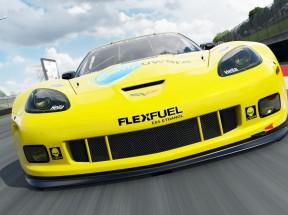 黄色跑车flexfuel 极限竞速7 4k壁纸