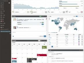 中文版SmartAdmin数据分析后台管理模板
