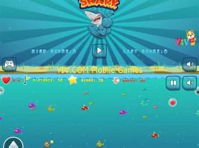 html5疯狂的鲨鱼吃小鱼手机游戏源码