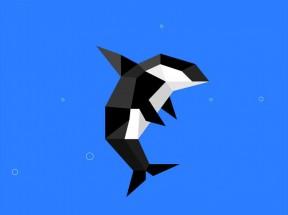 纯css3鲸鱼泡泡动画特效