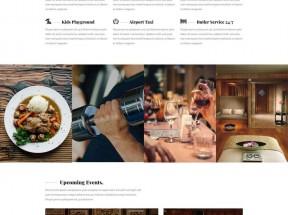 响应式宾馆假日酒店网站HTML5模板