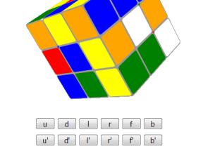 Cube制作3D立方体魔方旋转游戏代码