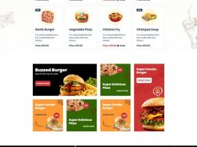 披萨快餐厅外卖网站HTML5模板