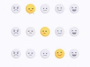 表情图标评论ui交互特效