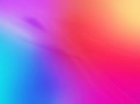 蓝色粉色紫色黄色渐变色4k壁纸