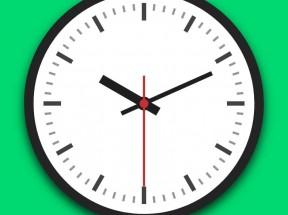 css3圆形时钟矢量动画