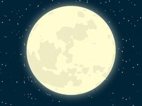 CSS3星空下的夜晚月亮移动动画特效