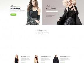 大气的时尚女性服装销售网站模板html源码