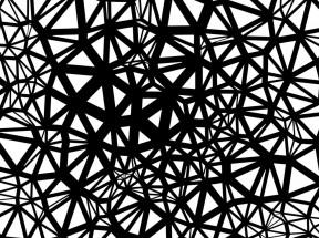全屏的网状线条图案动画特效