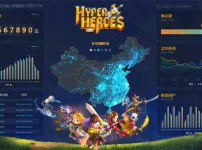 游戏充值平台统计图表页面模板